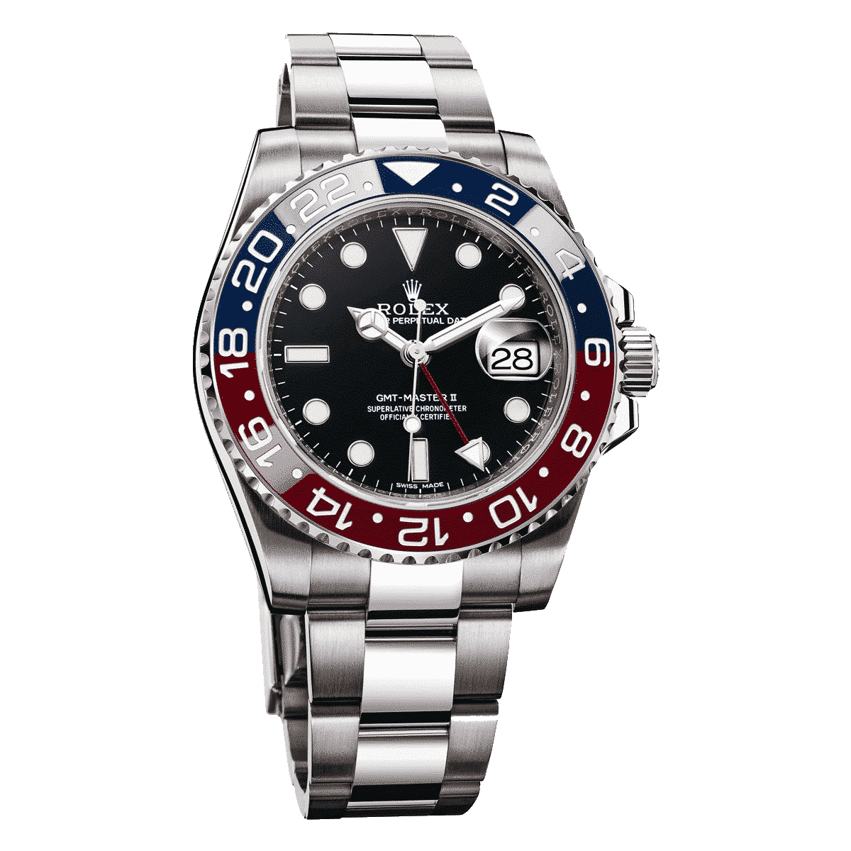 Rolex Oyster Perpetual Gmt Master Ii Lionel Meylan Vevey