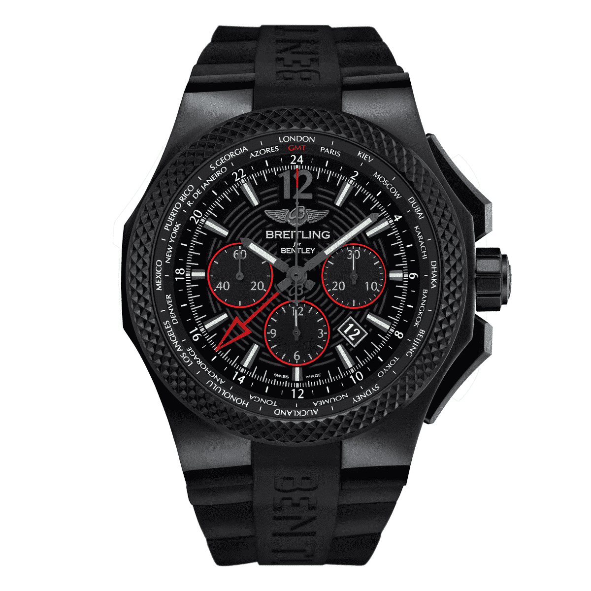 breitling bentley gmt light body b04 midnight carbon. Black Bedroom Furniture Sets. Home Design Ideas