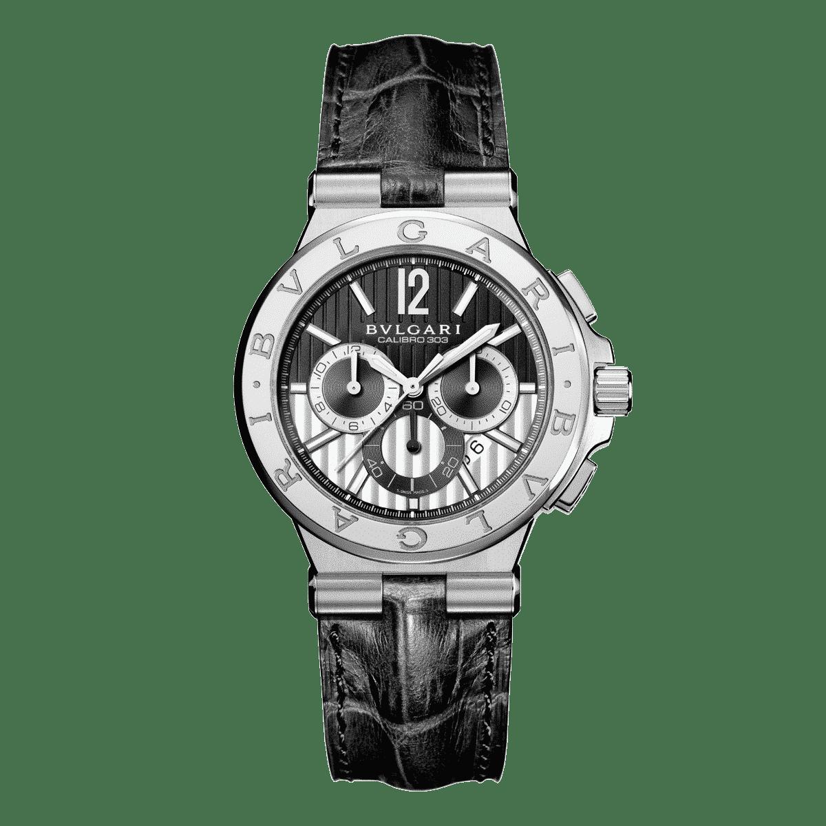 e73f598ff01 Bulgari Diagono Chronograph - Lionel Meylan Vevey