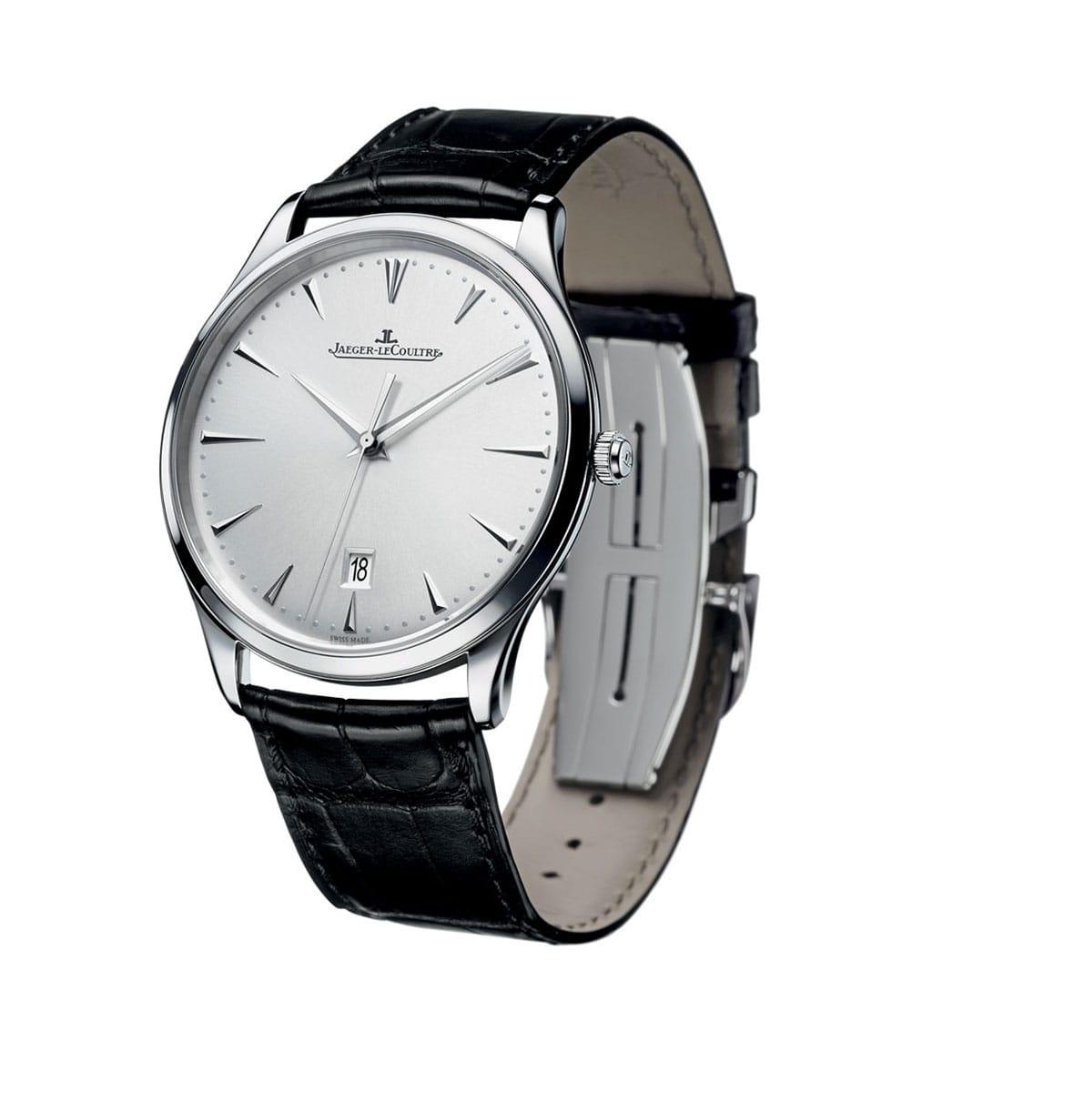 Highlight-Jaeger-Lecoultre-Master-Ultra-Thin-Date Lionel Meylan Horlogerie Joaillerie Vevey