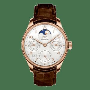 IWC-Portugieser-Calendrier-Perpetuel-IW503302 Lionel Meylan Horlogerie Joaillerie Vevey