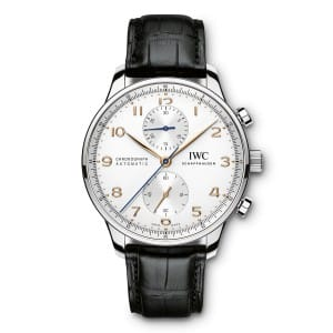 IWC-Portugieser-Chronographe-IW371445 Lionel Meylan Horlogerie Joaillerie Vevey