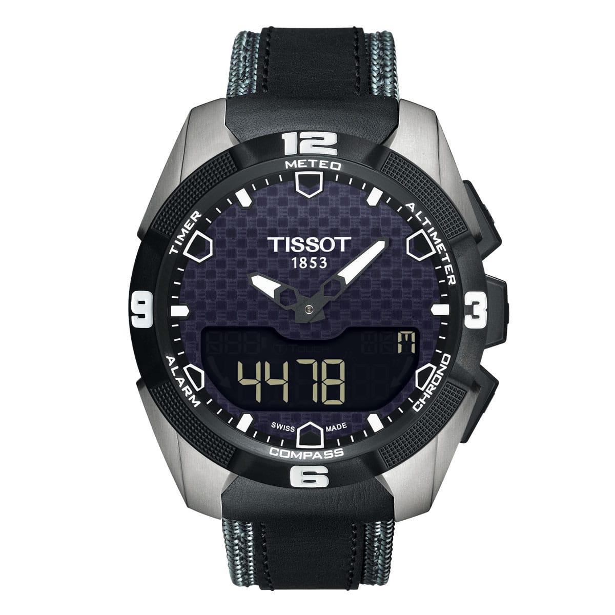 Tissot-T-Touch-Expert-Solar-T091_420_46_051_01 Lionel Meylan Horlogerie Joaillerie Vevey