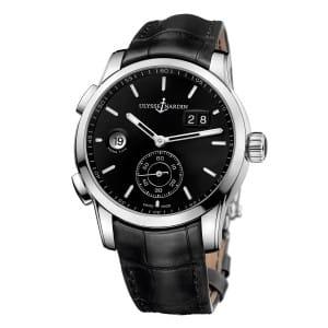 Ulysse-Nardin-Dual-Time-Manufacture-3343-126-92 Lionel Meylan Horlogerie Joaillerie Vevey