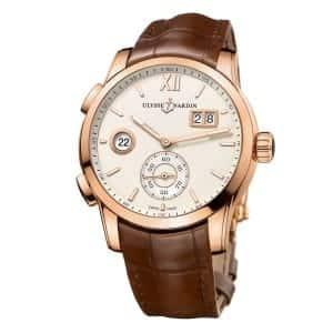 Ulysse-Nardin-Dual-Time-Manufacture-3346-126_90 Lionel Meylan Horlogerie Joaillerie Vevey