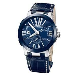 Ulysse-Nardin-Executive-Dual-Time-243-00_43 Lionel Meylan Horlogerie Joaillerie Vevey