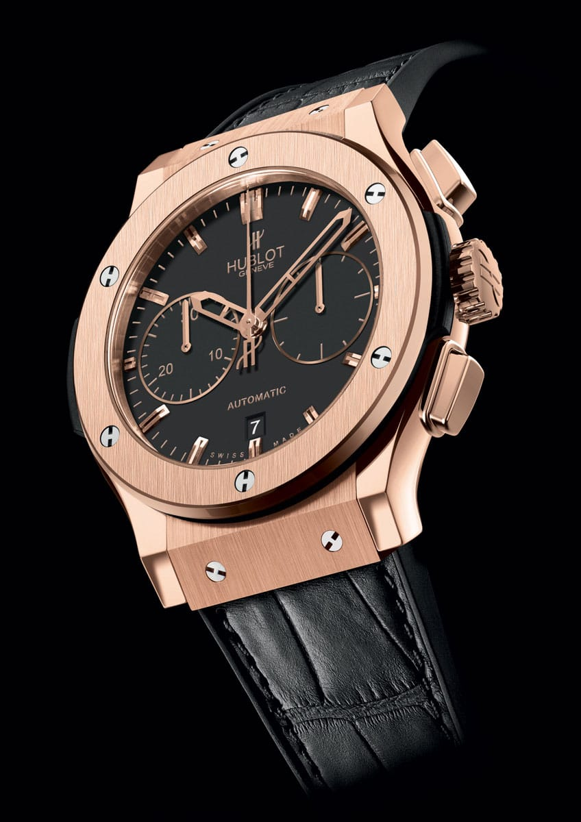 hublot classic fusion chronograph king gold lionel. Black Bedroom Furniture Sets. Home Design Ideas