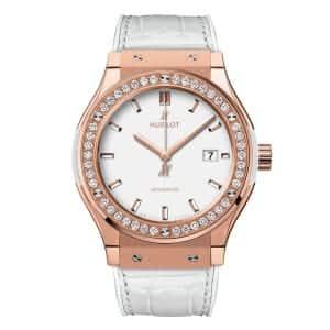 Hublot-Classic-Fusion-King-Gold-White-Diamonds-542.OE_.2080.LR Lionel Meylan Horlogerie Joaillerie Vevey