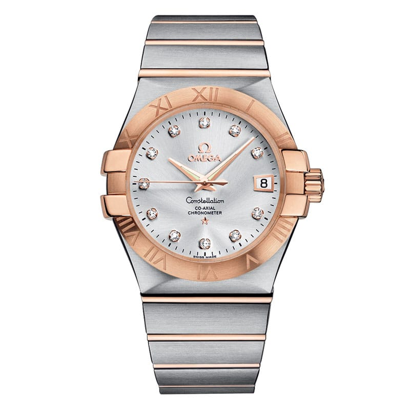 Omega-Constellation-Co-Axial-35-mm-123.20.35.20.52.001 Lionel Meylan Horlogerie Joaillerie Vevey