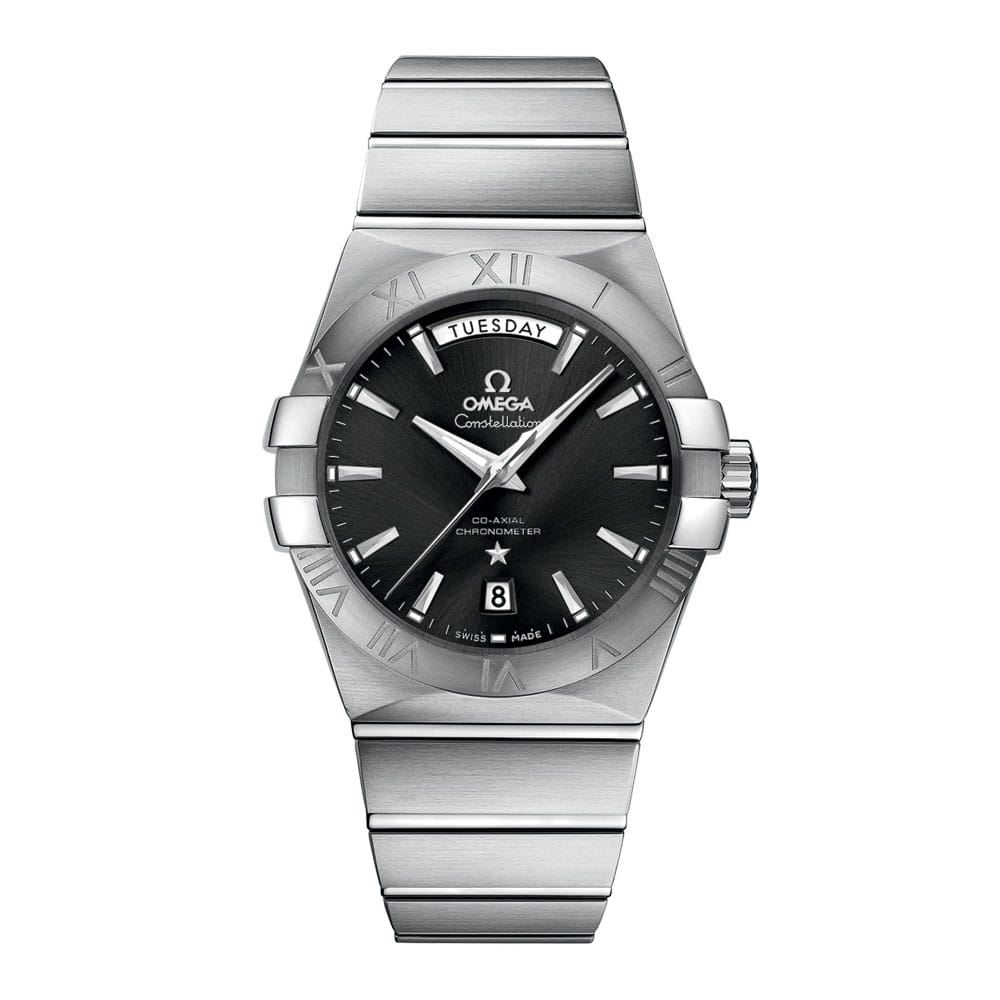 Omega Constellation Co-Axial Jour-Date 38 mm