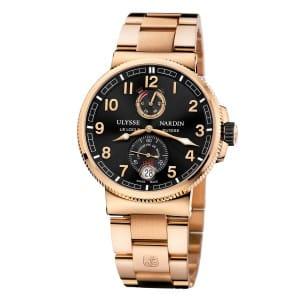 Ulysse-Nardin-Marine-Chonometer-Manufacture-1186-126-8M-62 Lionel Meylan Horlogerie Joaillerie Vevey