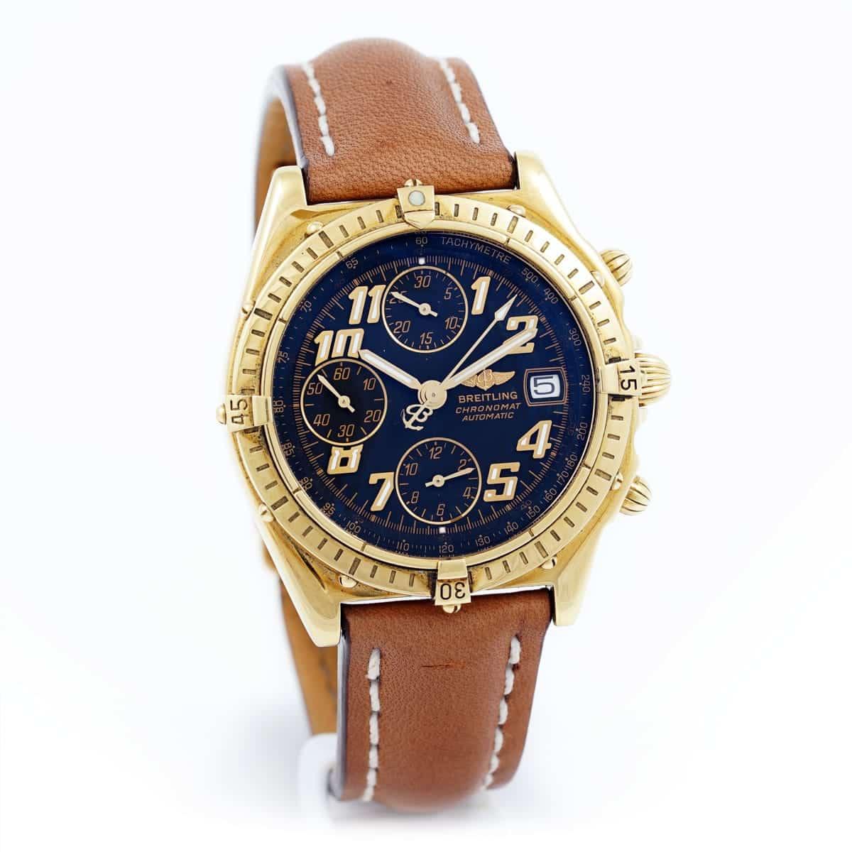 105091-Breitling-Chronomat-or-jaune-montres-occasion-seconde-main-lionel-meylan-vevey