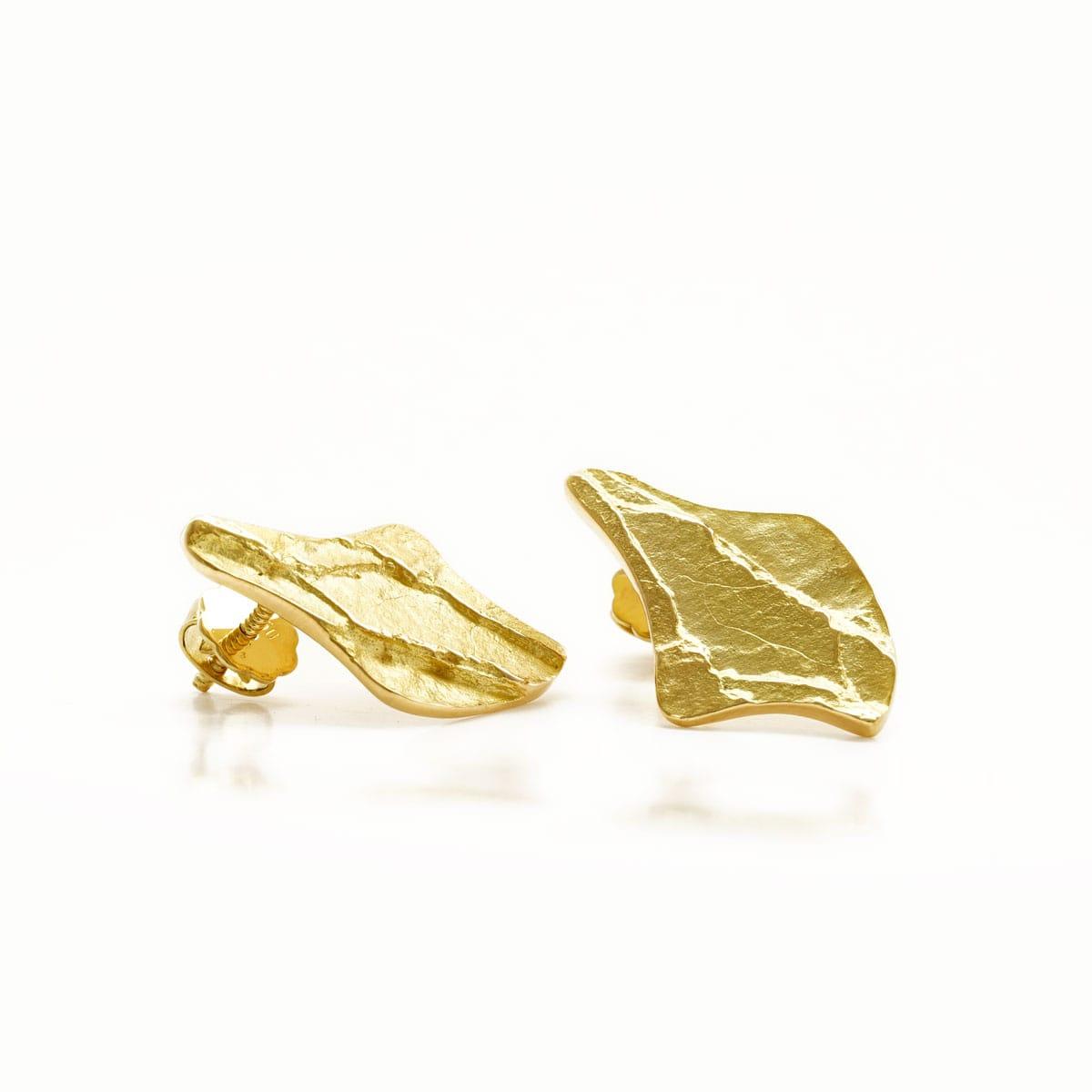 de gros taille 40 prix d'usine Michel h Boucles d'oreilles Ouvéa or jaune - Lionel Meylan Vevey