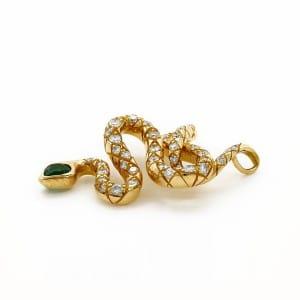 110767-Pendentif-motif-serpent-bijou-occasion-lionel-meylan-vevey