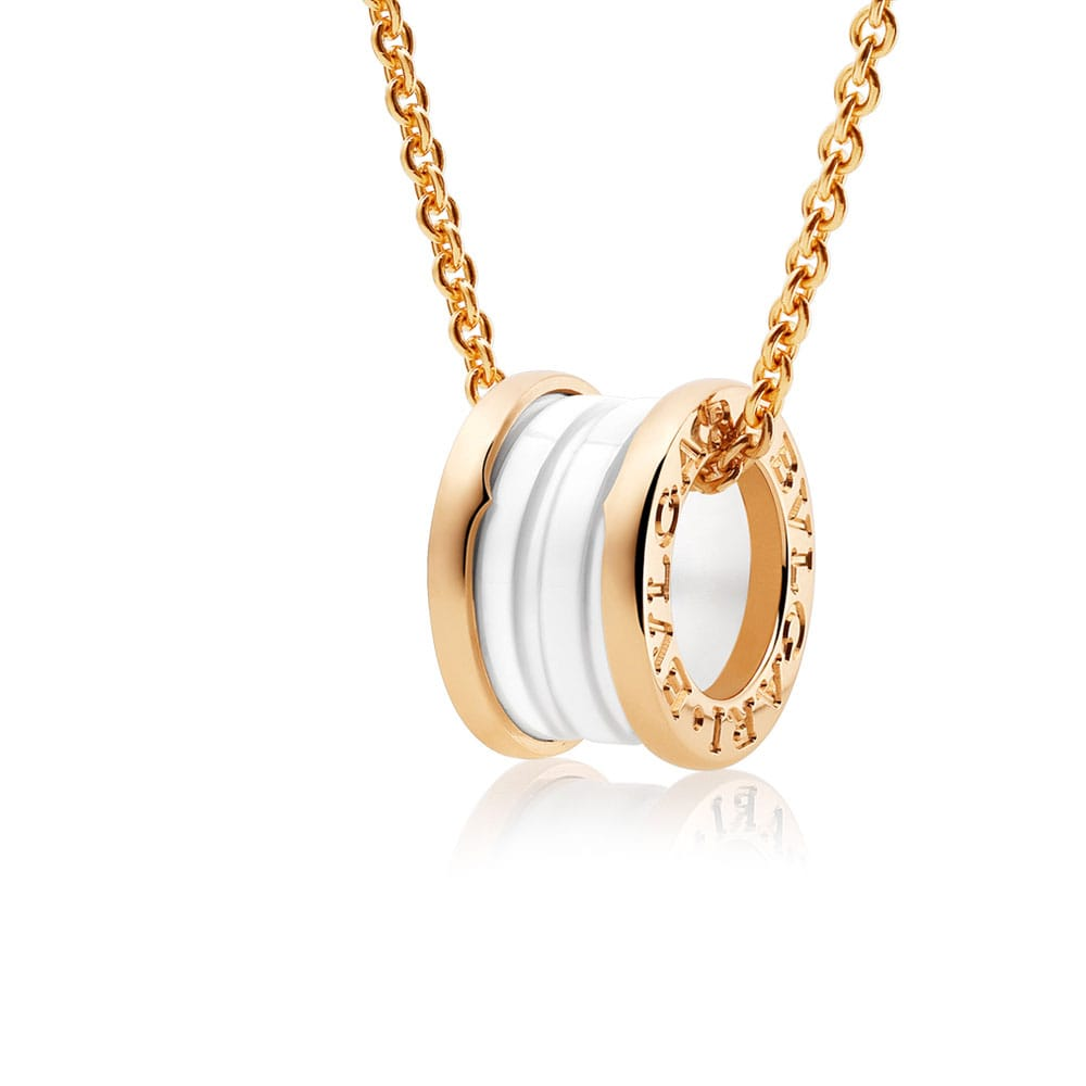 f0605bd16c1 Bulgari B.Zero1 Collier with pendant - Lionel Meylan Vevey