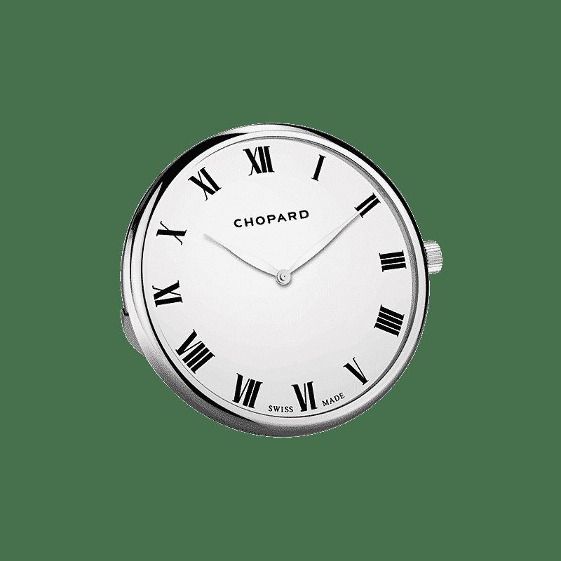 76740c8d01350 Chopard Pendulette classique 95020-0091 Lionel Meylan Horlogerie Joaillerie  Vevey