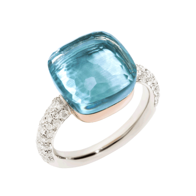 Pomellato-Nudo-bague-diamant-topaze-bleu-clair-A.B401-B9O6OY