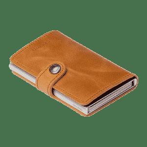 Secrid-MV-Cognac Miniwallet Amazon brown Lionel Meylan Horlogerie Joaillerie Vevey