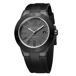 Bulgari-Diagono-Magnesium-102307 Lionel Meylan Horlogerie Joaillerie Vevey