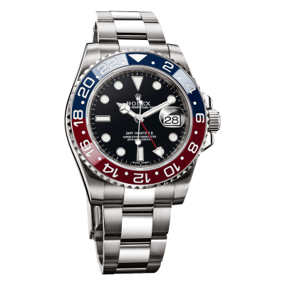 Rolex-Oyster-Perpetual-Date-GMT-Master-II Occasion Lionel Meylan Vevey