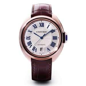 Cartier-Montre-Cle-de-Cartier-35736 Lionel Meylan Horlogerie Joaillerie Vevey