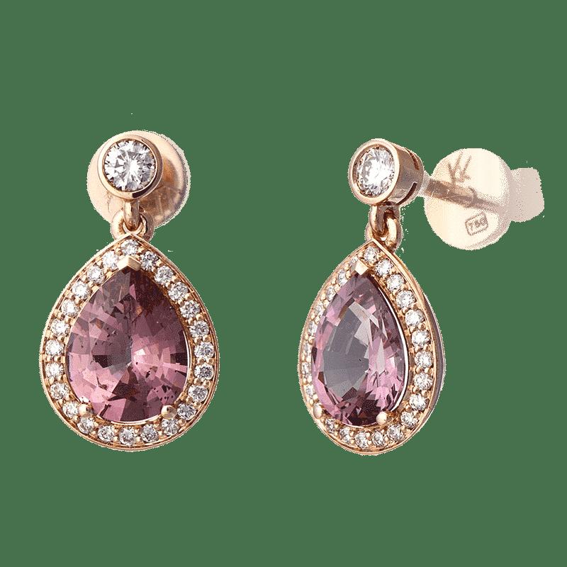 Lionel-Meylan-Garnet-Earrings Lionel Meylan Horlogerie Joaillerie Vevey