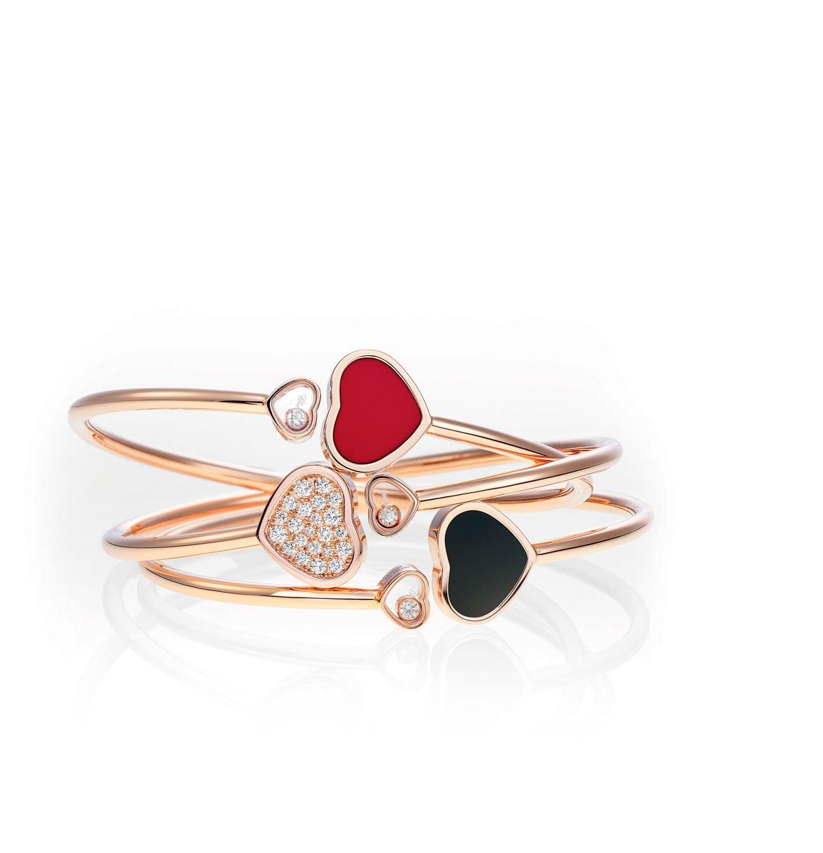 profiter de prix pas cher sélection premium qualité authentique Chopard Bracelet Happy Hearts - Lionel Meylan