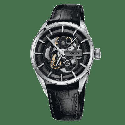 Montre-Oris-Artix-Skeleton-01-734-7714-4054-LS-Lionel-Meylan-Horlogerie-Joaillerie-Vevey