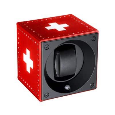 SwissKubik-Remontoir-cuir-rouge-SK01.FA001-Lionel-Meylan-Vevey