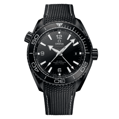 Omega Seamster Planet Ocean 600m Co-axial Master Chronometer GMT 215.92.46.22.01.001 - Lionel Meylan Vevey