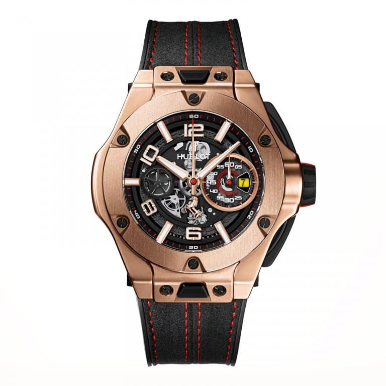 hublot big bang ferrari king gold lionel meylan. Black Bedroom Furniture Sets. Home Design Ideas