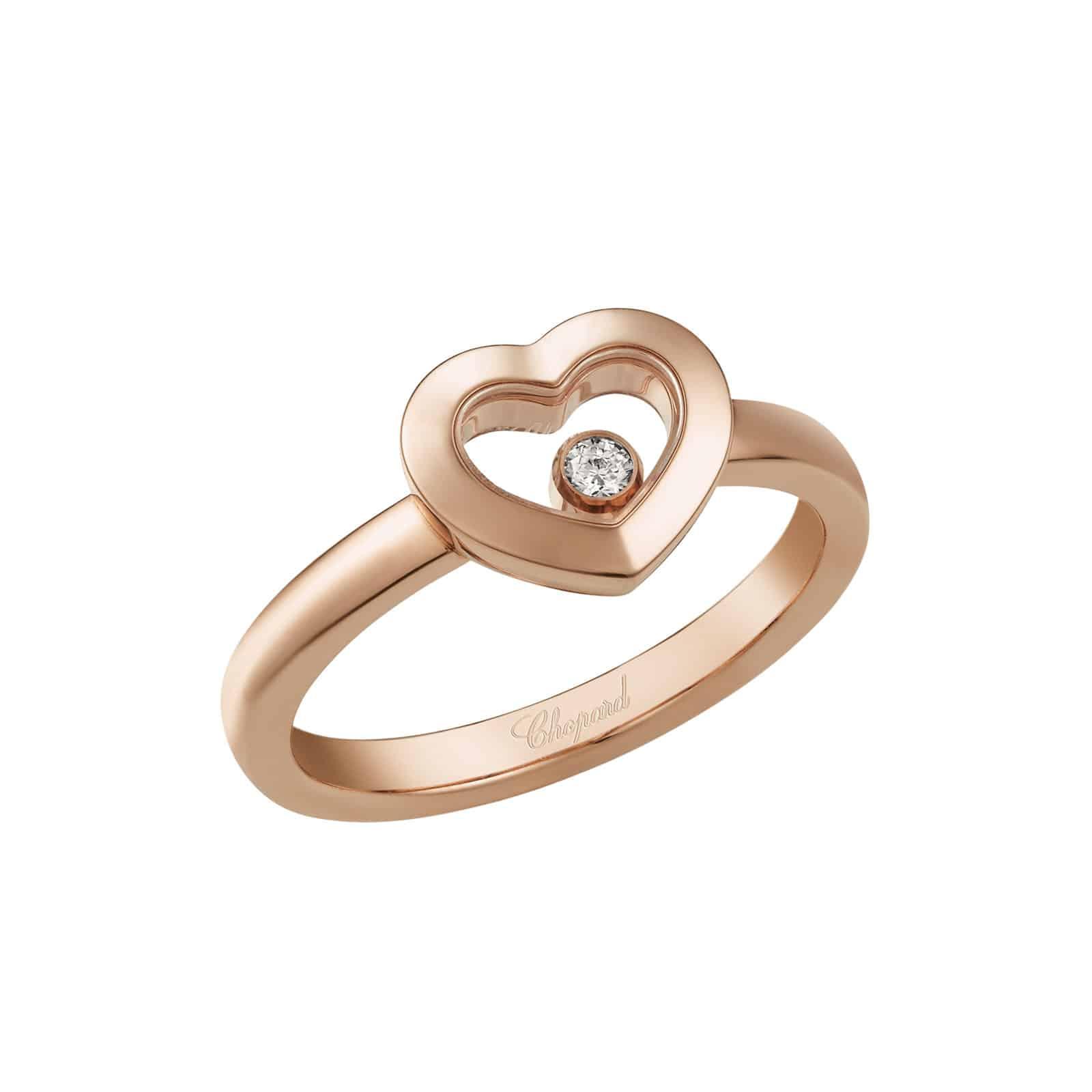 meilleure vente nouveau sélection Prix de gros 2019 Chopard Happy Diamonds ring - Lionel Meylan Vevey