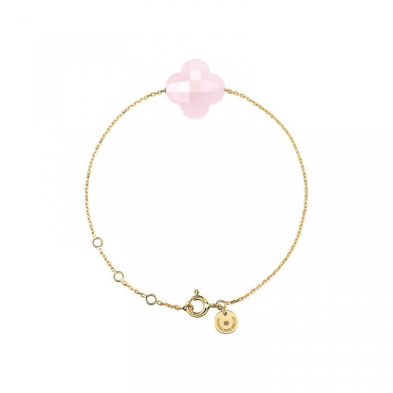 Bracelet-Morganne-Bello-Friandise-or-jaune-quartz-rose-1012YB122-Lionel-Meylan-Horlogerie-Joaillerie-Vevey