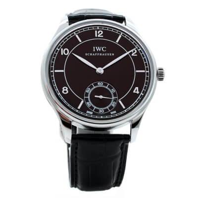 Montre-IWC-Portuguaise-occasion-Lionel-Meylan-horlogerie-joaillerie-Vevey