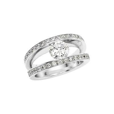 Bague-solitaire-diamants-blancs-Lionel-Meylan-Creations-Lionel-Meylan-Horlogerie-Joaillerie-Vevey