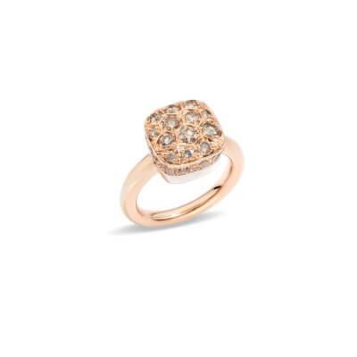 Bague-Pomellato-Nudo-Solitaire-diamants-brown-A.B704GO6BR-Lionel-Meylan-Horlogerie-Joaillerie-Vevey