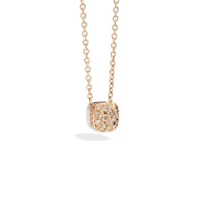 Collier-Pomellato-Nudo-Solitaire-diamants-brown-F.B704GO6BR-Lionel-Meylan-Horlogerie-Joaillerie-Vevey