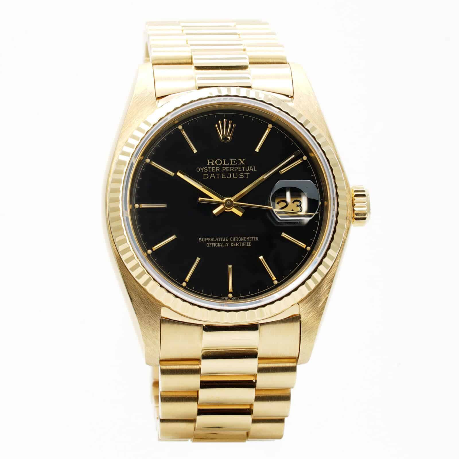 70f4f5d53ad Oyster Perpetual Date Just 36. Montre-Rolex-Date-Just -36-occasion-Lionel-Meylan-