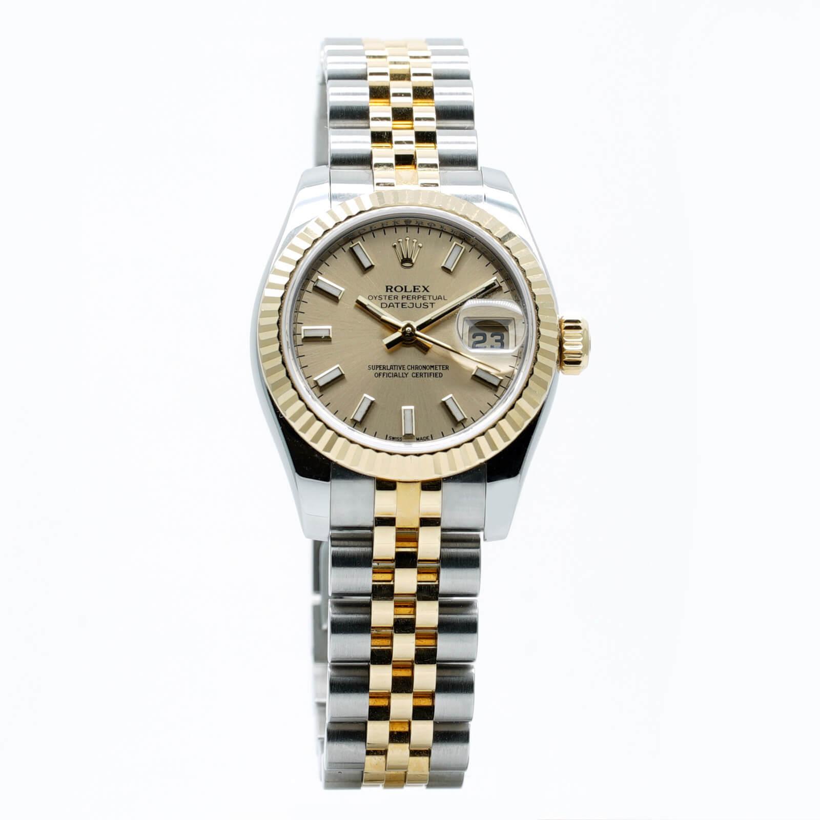 0763f76703e0 Montre-Rolex-Lady-Datejust-occasion-Lionel-Meylan-Horlogerie-