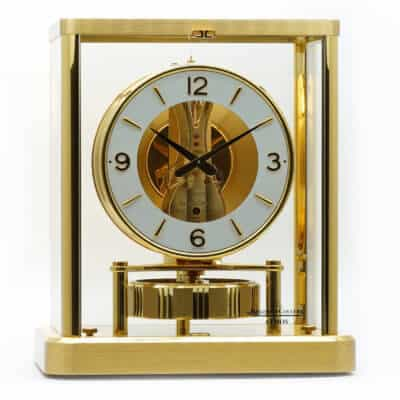 Pendule-Jaeger-LeCoultre-Atmos-Occasion-Lionel-Meylan-Horlogerie-Joaillerie-Vevey