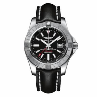 Montre-Breitling-Avenger-II-GMT-A3239011-BC35-Lionel-Meylan-Horlogerie-Joaillerie-Vevey