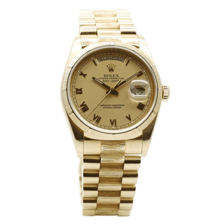 Montre-Rolex-Day-Date-occasion-Lionel-Meylan-horlogerie-joaillerie-vevey