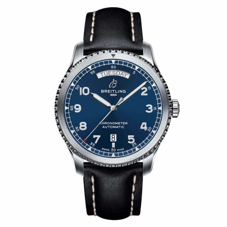 Montre-Breitling-Navitimer-8-Automatic-Day-Date-41-A45330101C1X3-Lionel-Meylan-Horlogerie-Joaillerie-Vevey