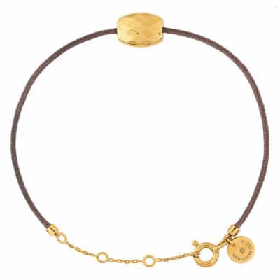 Bracelet-Morganne-Bello-CORDON-TAUPE-PEPITE-OR-JAUNE-80X47YA128-Lionel-Meylan-Horlogerie-Joaillerie-Vevey