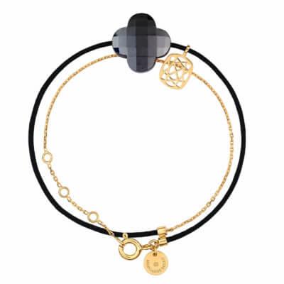 Bracelet-Morganne-Bello-LIANE-OR-JAUNE-HEMATITE-10X03YB186-Lionel-Meylan-Horlogerie-Joaillerie-Vevey