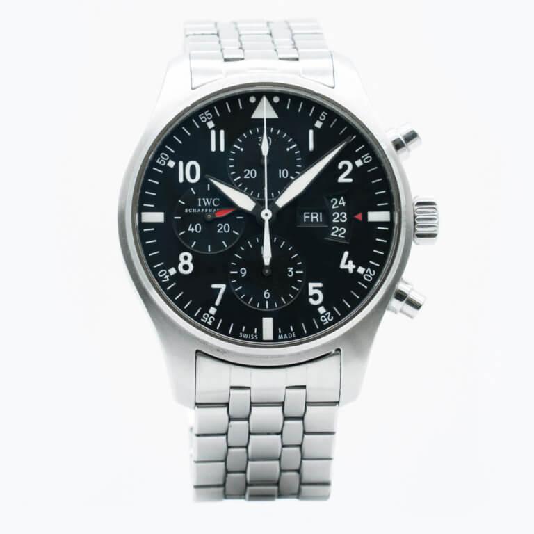 Montre-IWC-Pilot-occasion-Lionel-Meylan-Horlogerie-Joaillerie-Vevey
