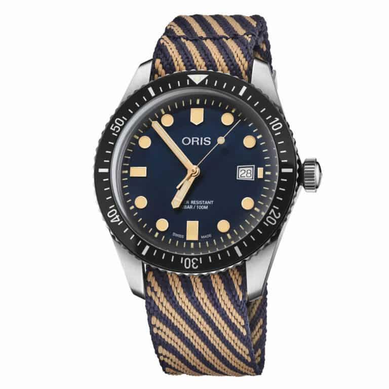 Montre-Oris-Divers-Sixty-Five-2018-01-733-7720-4035-Lionel-Meylan-Horlogerie-Joaillerie-Vevey