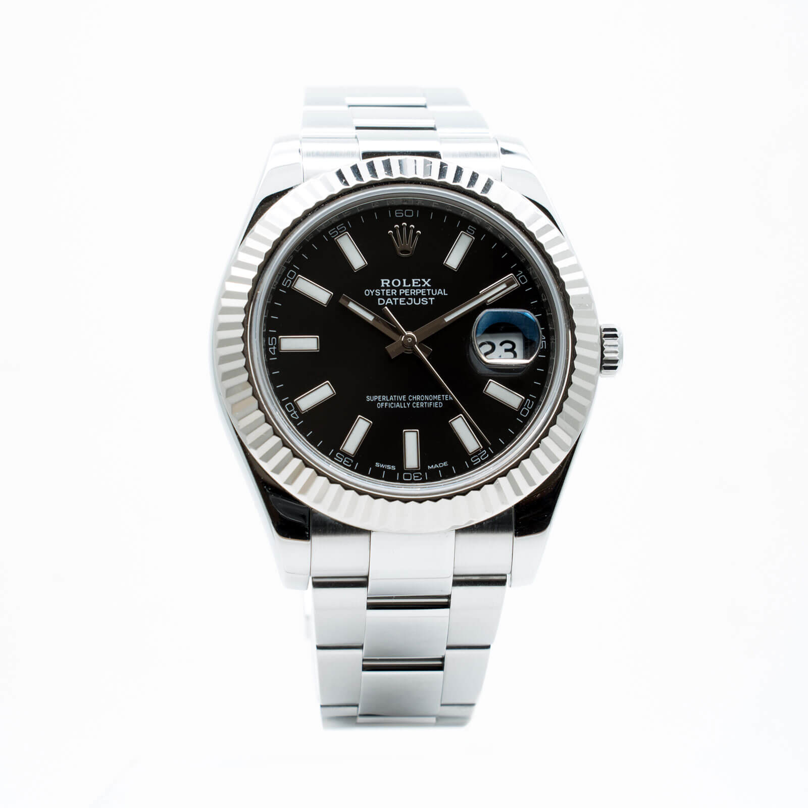 086094307fe23 ROLEX Rolex Oyster Perpetuel DateJust II - Lionel Meylan Vevey