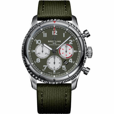 Montre-Breitling-Aviator8-chronograph43-curtiss-Warhawk,Lionel-Meylan-horlogerie-joaillerie-Vevey