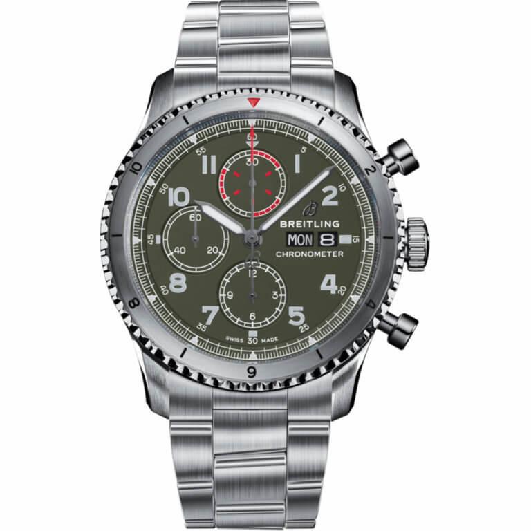 Montre-Breitling-Aviator8-chronograph43-Curtiss-Warhawk-A133161A1L1A1-Lionel-Meylan-horlogeire-joaillerie-Vevey
